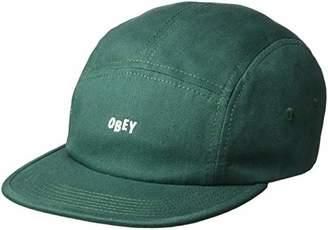 d4f31c750ab9a Obey Men s Jumble BAR II 5 Panel Camp HAT