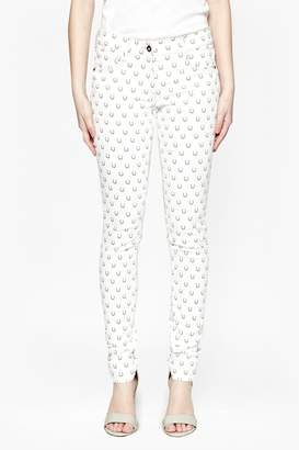 Great Plains Get Lucky Printed Jeans