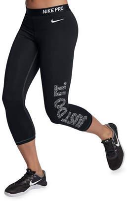 Nike Swoosh Selfie Capri Leggings