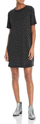 Splendid Studded T-Shirt Dress