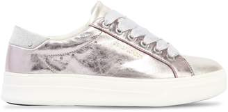 30mm Metallic Leather Sneakers