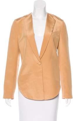 3.1 Phillip Lim Silk High-Low Blazer
