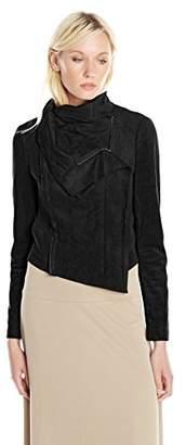 BCBGMAXAZRIA Women's Ana Asymmetric Jacket