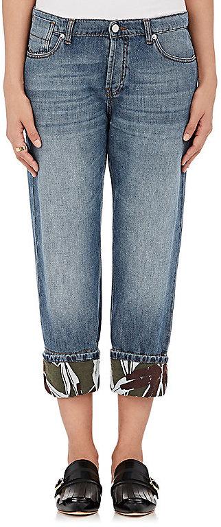 MarniMarni Women's Cotton-Linen Boyfriend Jeans