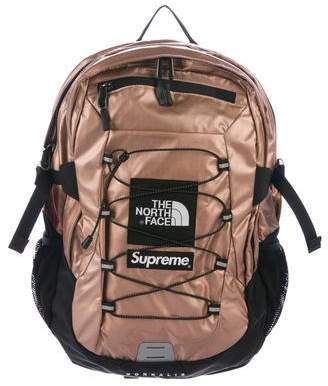 The North Face x Supreme 2018 Metallic Borealis Backpack w/ Tags