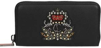 Christian Louboutin Panettone Embellished Zip-around Wallet
