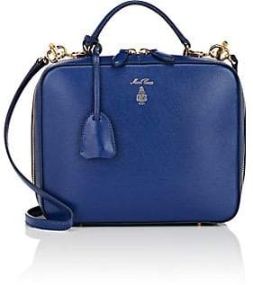 Mark Cross Women's Laura Leather Camera Bag - Blue