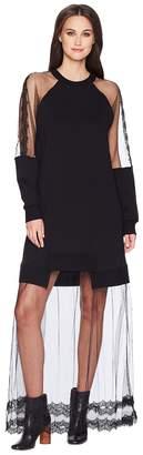 McQ Hybrid Long Dress Women's Dress