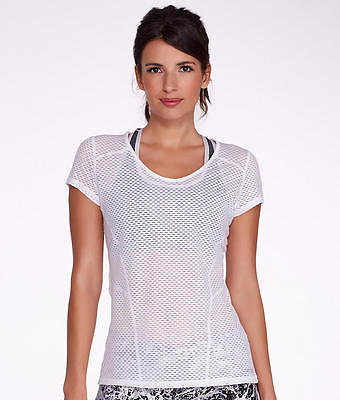 Calvin Klein Performance Mesh T-Shirt,, Activewear - Women's