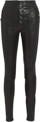 J Brand Natasha Skinny Leather Pants
