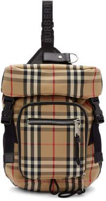Burberry Beige Leo Belt Backpack