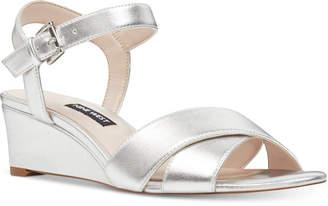 Nine West Laglade Wedge Sandals Women's Shoes