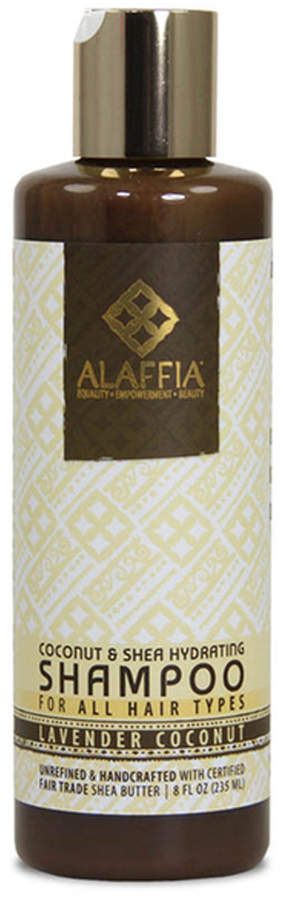 Coconot Shea Hydrating Shampoo - Lavender Coconut by Alaffia (8oz Shampoo)