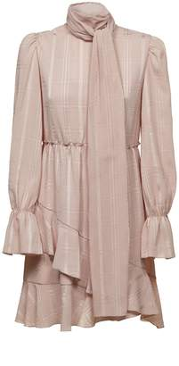 See by Chloe High Neck Ruffle Dress