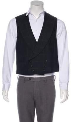 Ralph Lauren Purple Label Wool Suit Vest black Wool Suit Vest