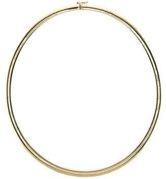14K Omega Necklace