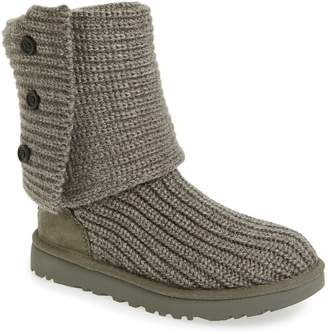 5745411b44 Gray Knit Uggs Boots - ShopStyle