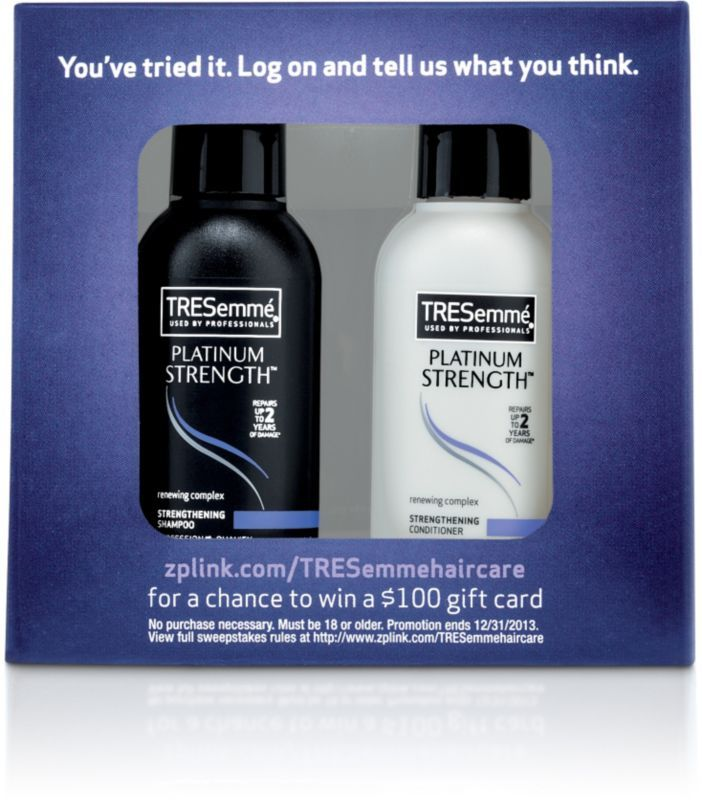 Tresemme FREE 2 Pc Gift Set w/any Haircare purchase