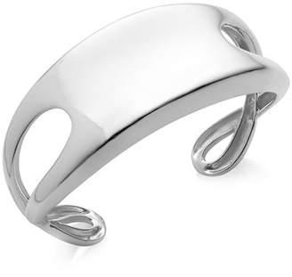 Nambe Sterling Silver Double Infinity Cuff Bracelet