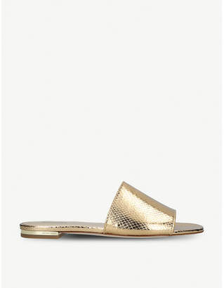MICHAEL Michael Kors Shelly open-toe leather sandals