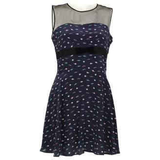 Lulu & Co Navy Silk Dresses