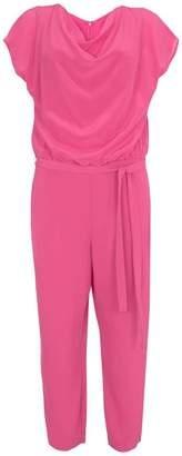 882abe912bd Mint Velvet Cerise Silk Cowl Jumpsuit