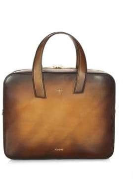 Chloé Corthay Cyrus Leather Portfolio Document Briefcase