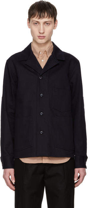Acne Studios Navy Media Jacket