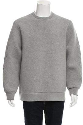 Neil Barrett Embroidered Neoprene Sweatshirt