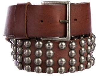 Maison Margiela Studded Leather Belt