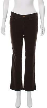 J Brand Mid-Rise Corduroy Pants