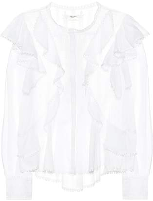 Etoile Isabel Marant Isabel Marant, étoile Alea embroidered cotton blouse