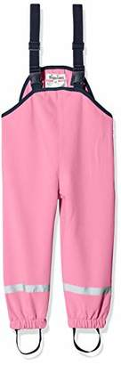 Playshoes Girl's Kinder Softshell-Latzhose, Softshellhose Dungarees, (Pink 18)