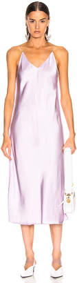 Helmut Lang Slip Dress in Lavender | FWRD