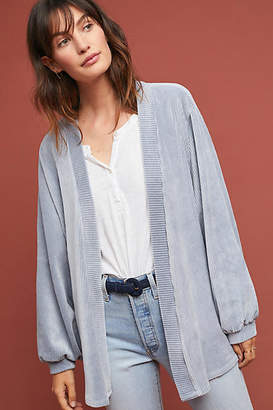 Anthropologie Ribbed Corduroy Cardigan