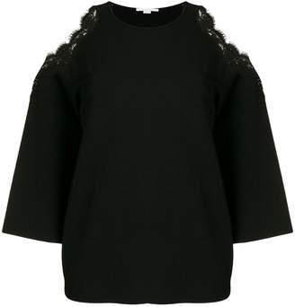 Stella McCartney cold shoulder knitted top