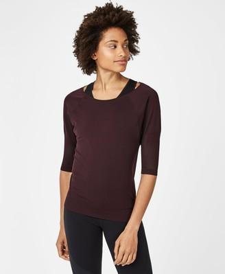 Sweaty Betty Dharana Short Sleeve Yoga T-Shirt
