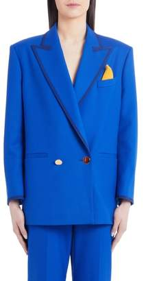 Sara Battaglia Stretch Wool Jacket