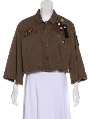 Cinq à Sept Embellished Casual Jacket w/ Tags