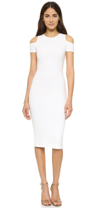 alice + olivia AIR Meya Cold Shoulder Dress $275 thestylecure.com