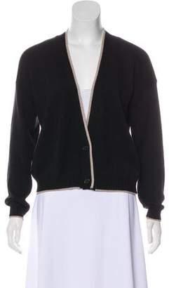 Marni Wool Rib Knit Cardigan
