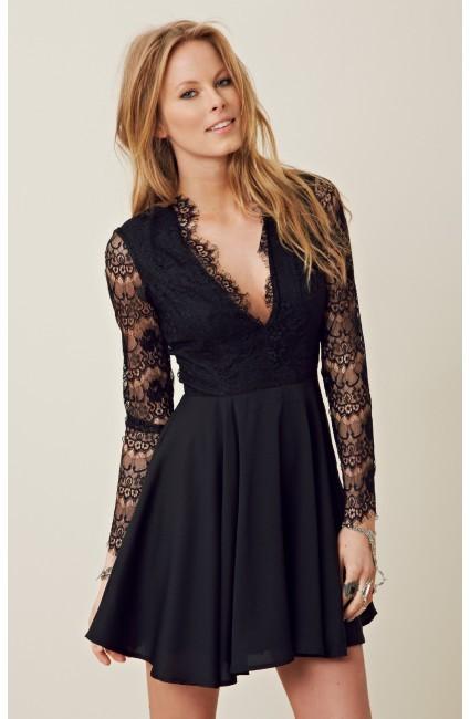 Keepsake Need Your Love Long Sleeve Dress