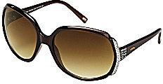 Fossil Meadow Rhinestone-Accent Sunglasses