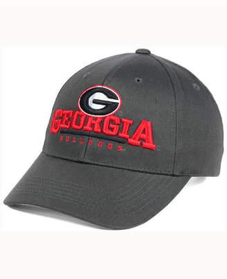 Top of the World Georgia Bulldogs Charcoal Teamwork Snapback Cap