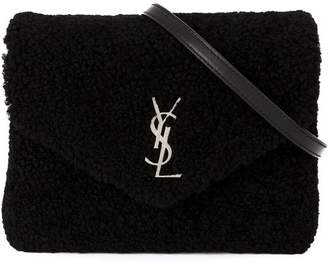 Saint Laurent front logo crossbody bag
