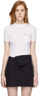 Jacquemus White Le T-Shirt T-Shirt