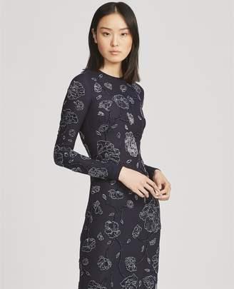 Ralph Lauren Hamlin Beaded Evening Dress