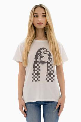 Siwy Madison In White Old School T Shirt
