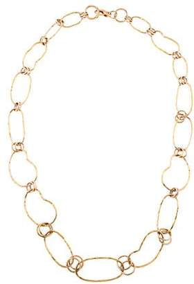 Ippolita 18k Prisma Multi-Circle Link Necklace in Portofino yV0Tr