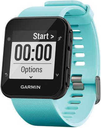 Garmin Unisex Forerunner 35 Blue Silicone Strap Gps Smart Watch 40.7x40.7mm